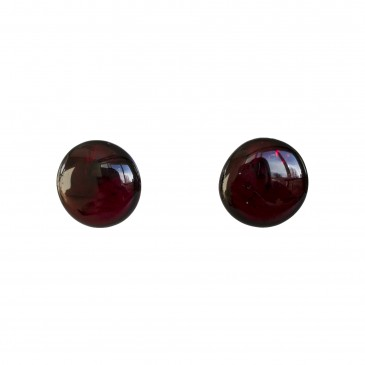 Cherry post earrings #04