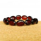Irregular cherry olives bracelet #02