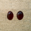 Cherry post earrings #01