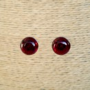 Cherry post earrings #03