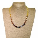 M cherry rainbow fragments necklace