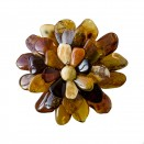Mix aster brooch