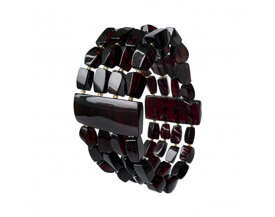 4 strings cherry fragments bracelet