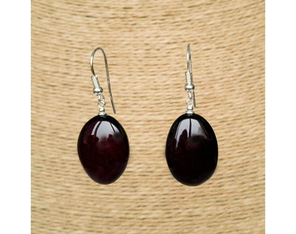 Cherry plums earrings #01