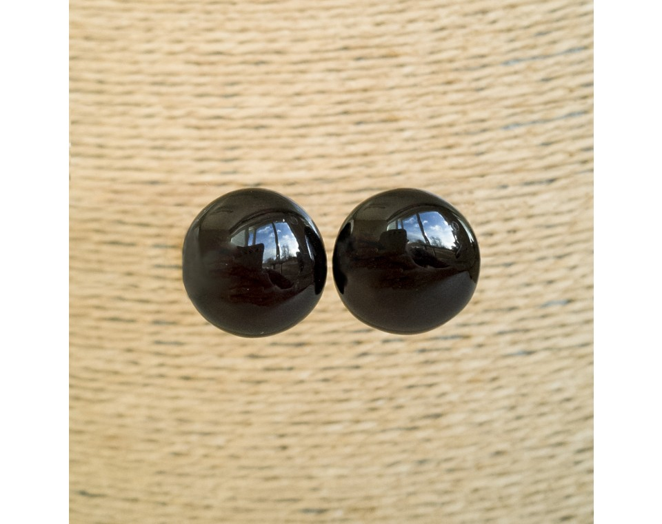 Cherry post earrings #05