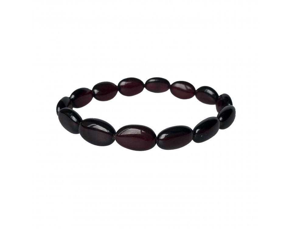 Irregular cherry olives bracelet #01