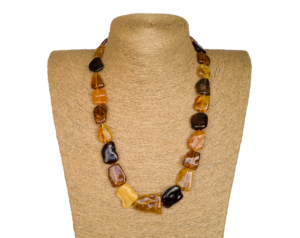 M free form mix necklace long