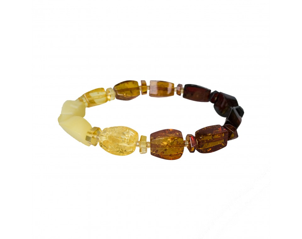 Matt rainbow fragments bracelet