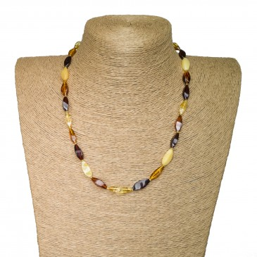S twisted mix necklace