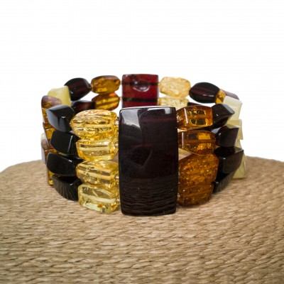4 strings mix fragments bracelet