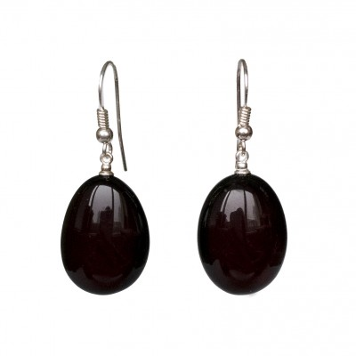 Cherry plums earrings #02