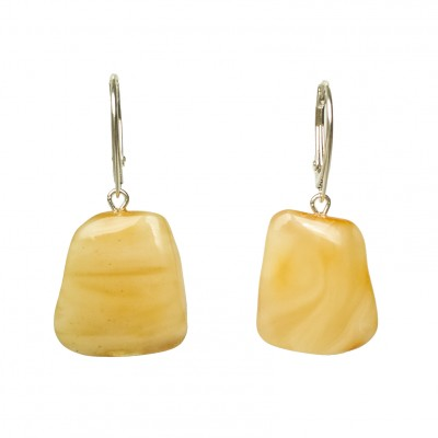 M free form matt earrings #05