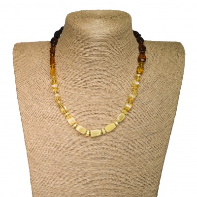 M mix fragments short necklace