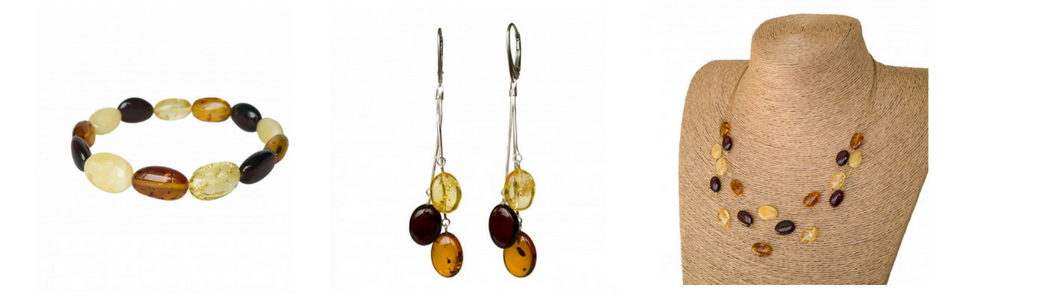Natural amber jewelry gifts