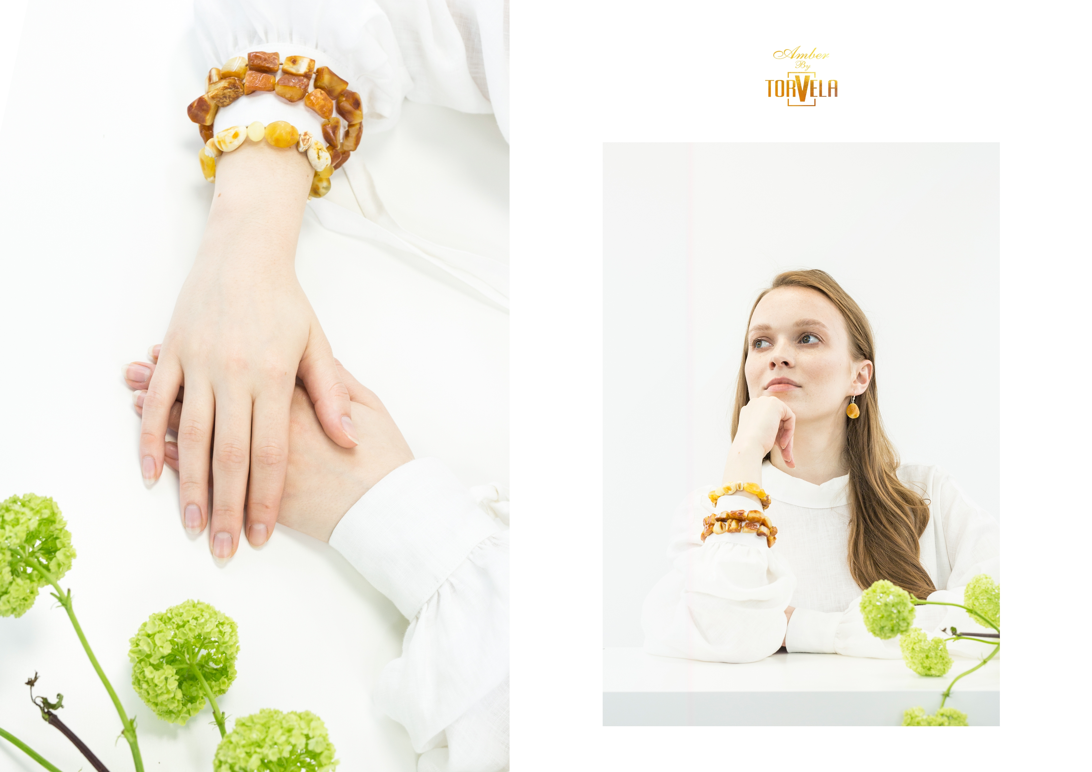Natural Baltic Amber handmade jewelry by Amber by Torvela_3